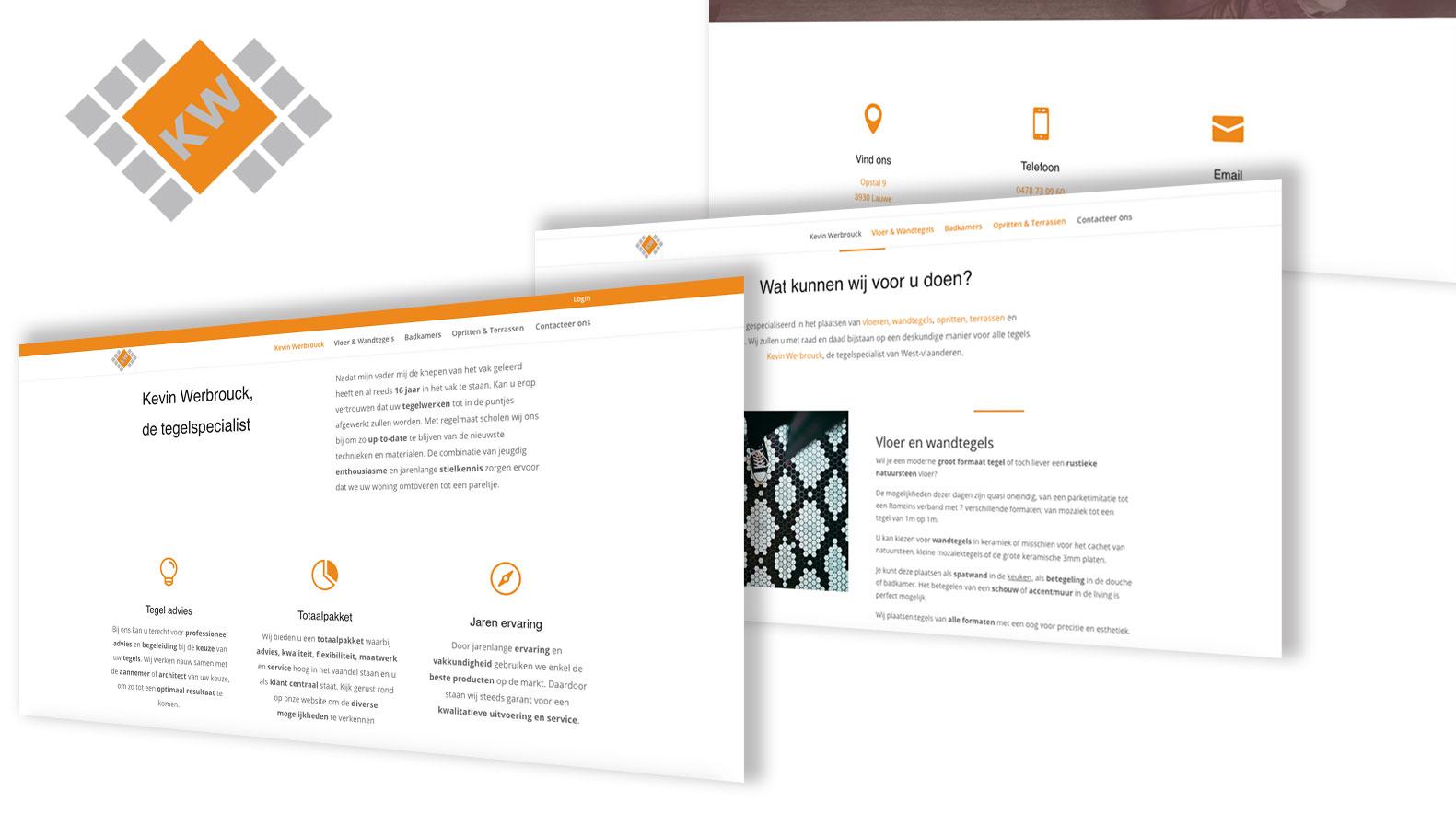 Kevin Werbrouck - Website Creatie
