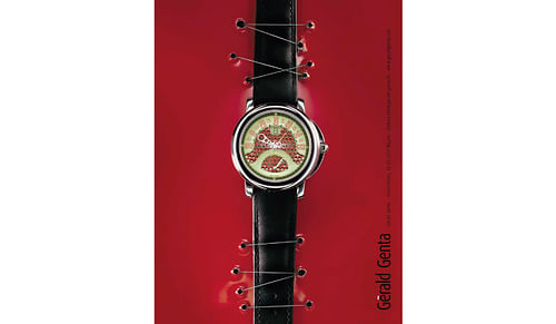 Gérald Genta Haute horlogerie - Image de marque & branding