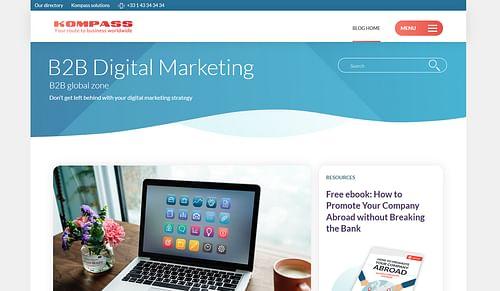 Content Hub Kompass International - Estrategia digital