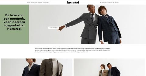 Hemsted: Website & SEA