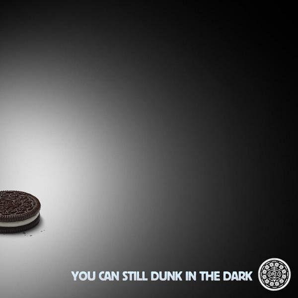 Super Bowl dunk in the dark