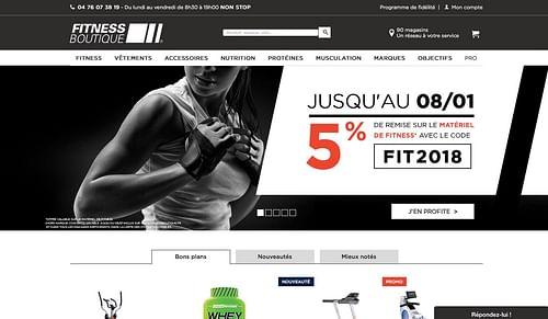 Fitness Boutique : webanalytics par Bee4 - Web analytique/Big data