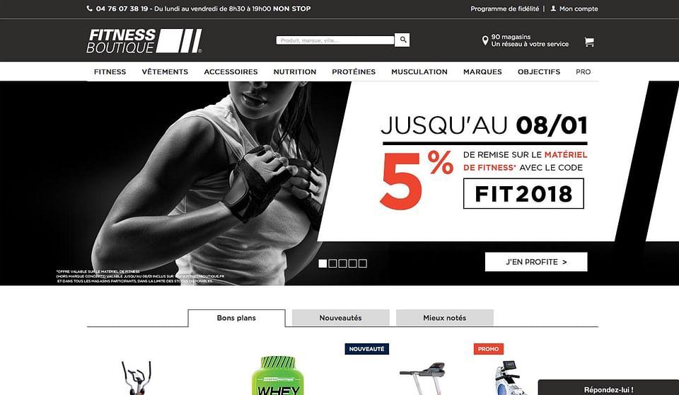 Fitness Boutique : webanalytics par Bee4
