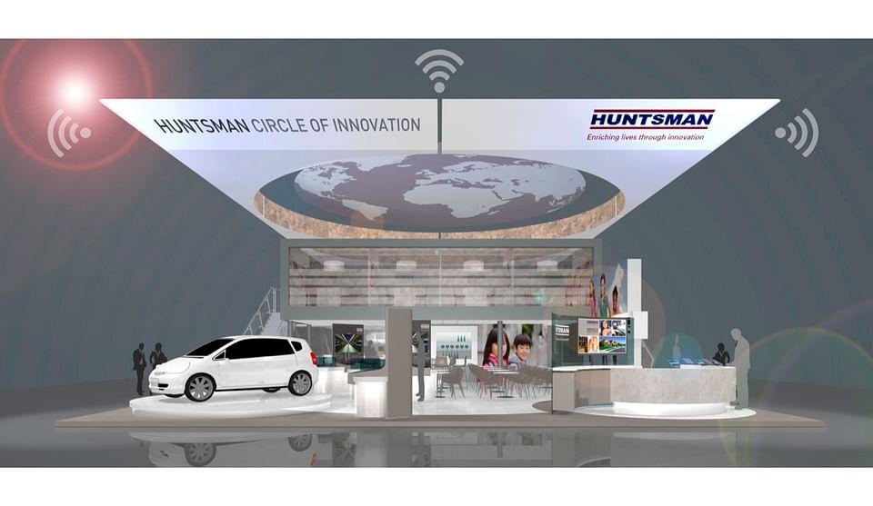 HUNTSMAN, smart @ trade fairs