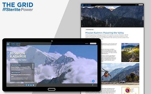 Sterlite Power-Digital Magazine, The Grid - Content Strategy