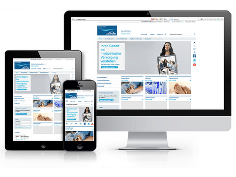 Linde Healthcare Österreich / Shopentwicklung