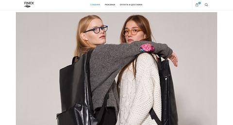 Finick e-commerce website