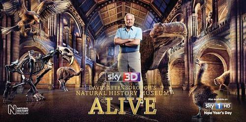 David Attenborough's Natural History Museum ALIVE - Advertising