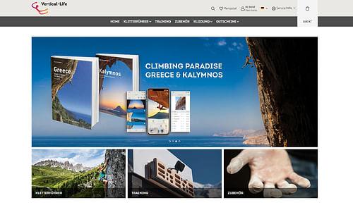 Onlineshop für Vertical-Life - E-Commerce