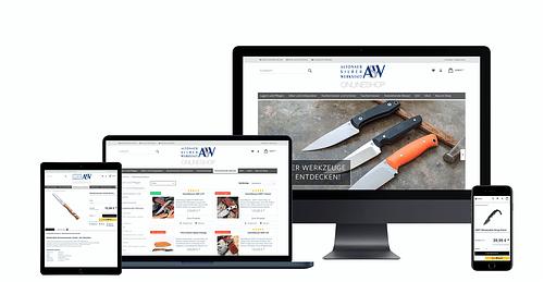 Agenturbetreuung für die Altonaer Silberwerkstatt - E-Commerce