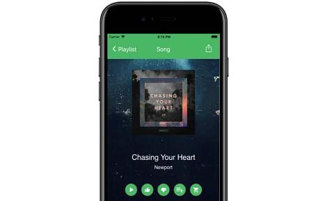 Radio-App mit frischen Redesign