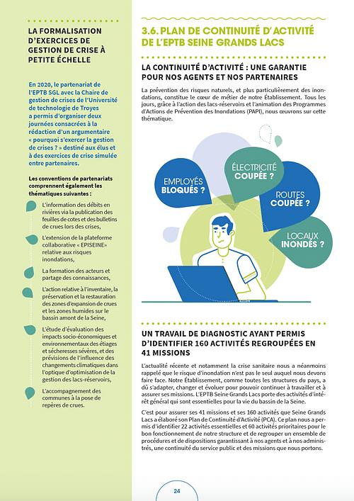 Rapport du développement durable 2020 - EPTB - Graphic Design