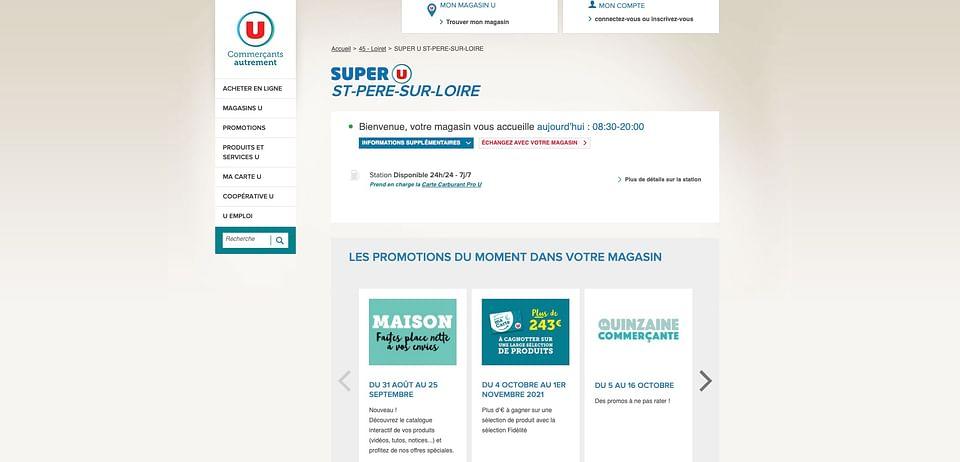 Campagne E-mailing pour Super U