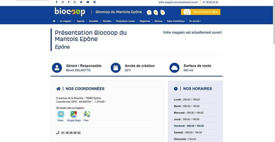 Biocoop : stratégie d'e-mailing locale