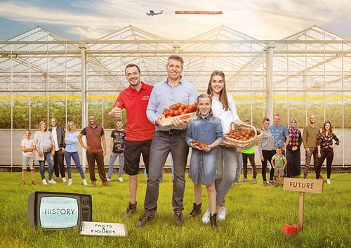 Branding voor Prominent Tomatoes - Website Creatie