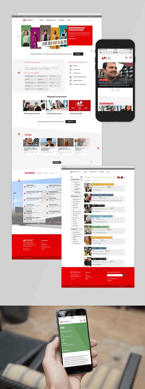 AP Hogeschool - Website Creatie