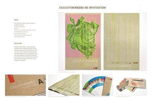 DESIGNTHINKERS 08 INVITATION - Graphic Design