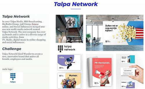 Talpa Network - Branding & Positionering