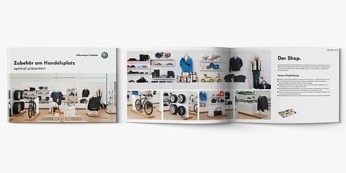 Shop-in-Shop-Handbuch Volkswagen Zubehör - Markenbildung & Positionierung
