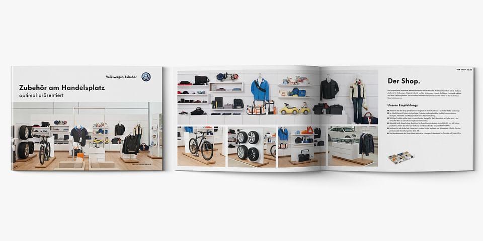 Shop-in-Shop-Handbuch Volkswagen Zubehör