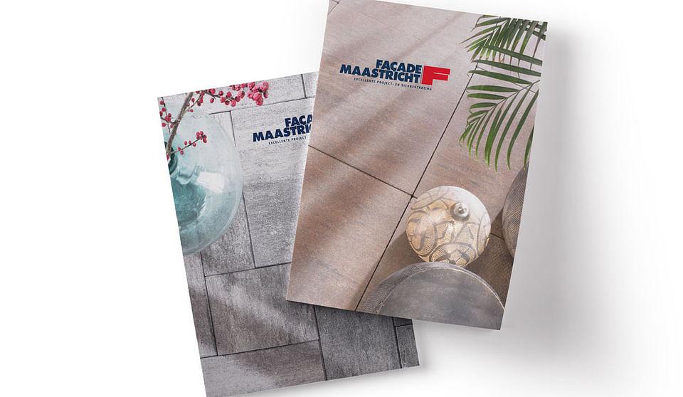 Façade Maastricht productbrochures en stilering
