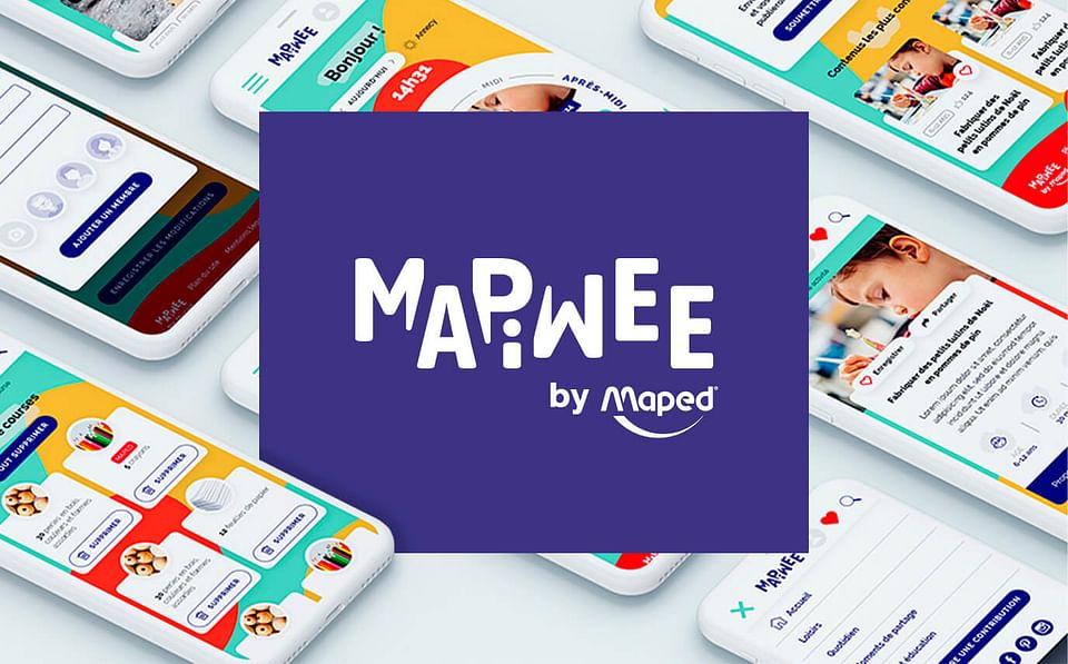 MAPIWEE : Branding, content & site internet