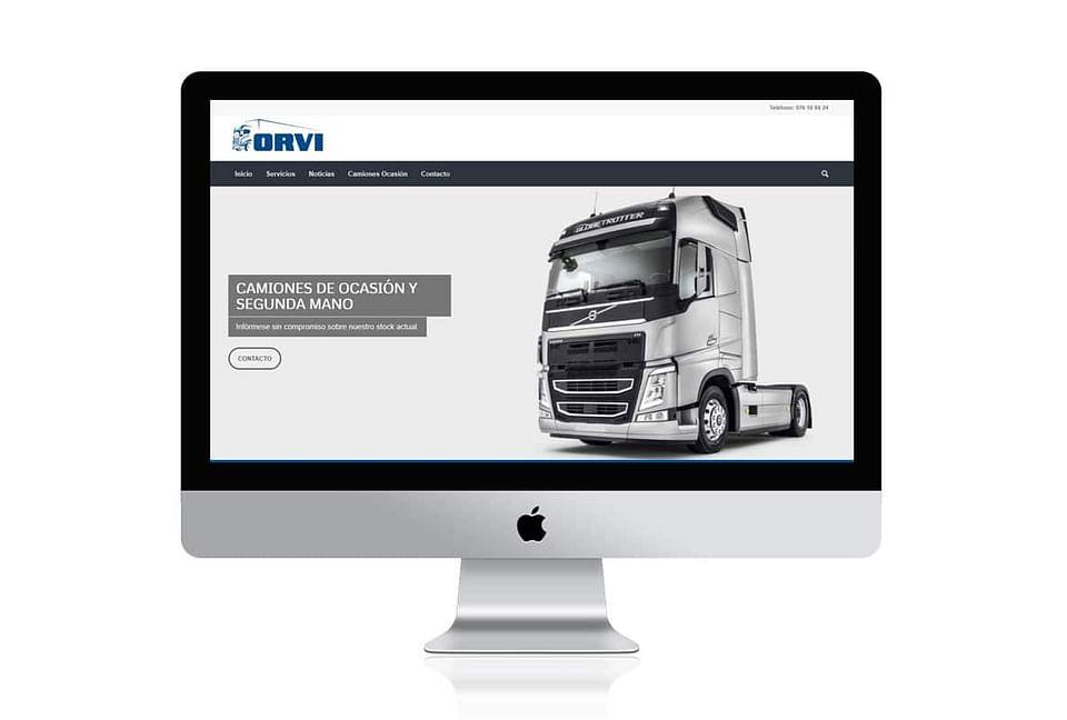 Diseño Web Orvi SL