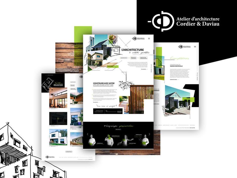 Création site internet : Cordier Davau