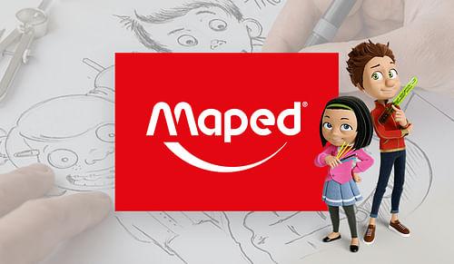 MAPED : Publicité TV - full 3D - Stratégie de contenu