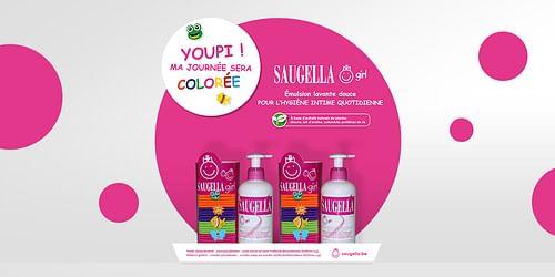 Saugella Girl Display - Design & graphisme