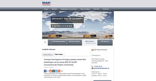 DafPeeters.be - Online Advertising