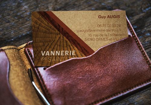 Vannerie-en-Saintois - Cartes de visite - Design & graphisme