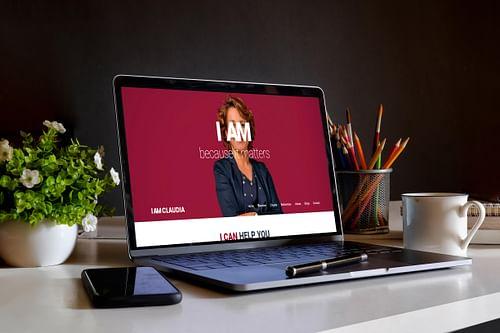 Professionele website voor IAMCLAUDIA - Website Creatie