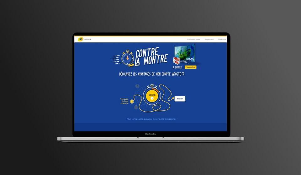 Groupe La Poste - RH, CRM, API, jeu concours