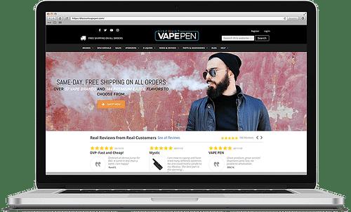 DISCOUNT VAPE PEN MARKETING - Website Creation