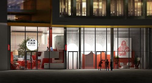 NEWTON OFFICES | Espaces de travail collaboratif - Design & graphisme