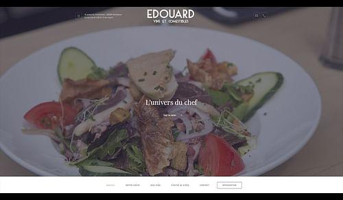 EDOUARD - Création de site internet