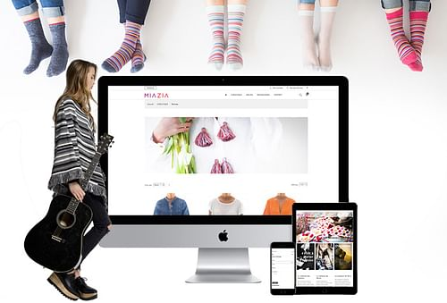 Mia Zia - Création de site internet