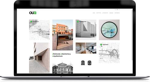 Website para empresa de urbanismo y arquitectura - Creación de Sitios Web