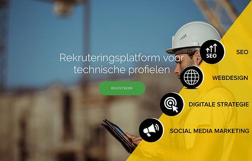 Webdesign - Applicatie - SEO - Full marketing - SEO