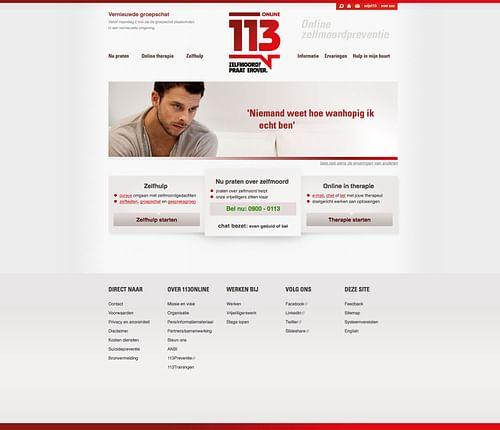 Webdesign 113 Online - Website Creatie