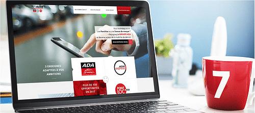ADA - Refonte du site du réseau de franchise - Création de site internet