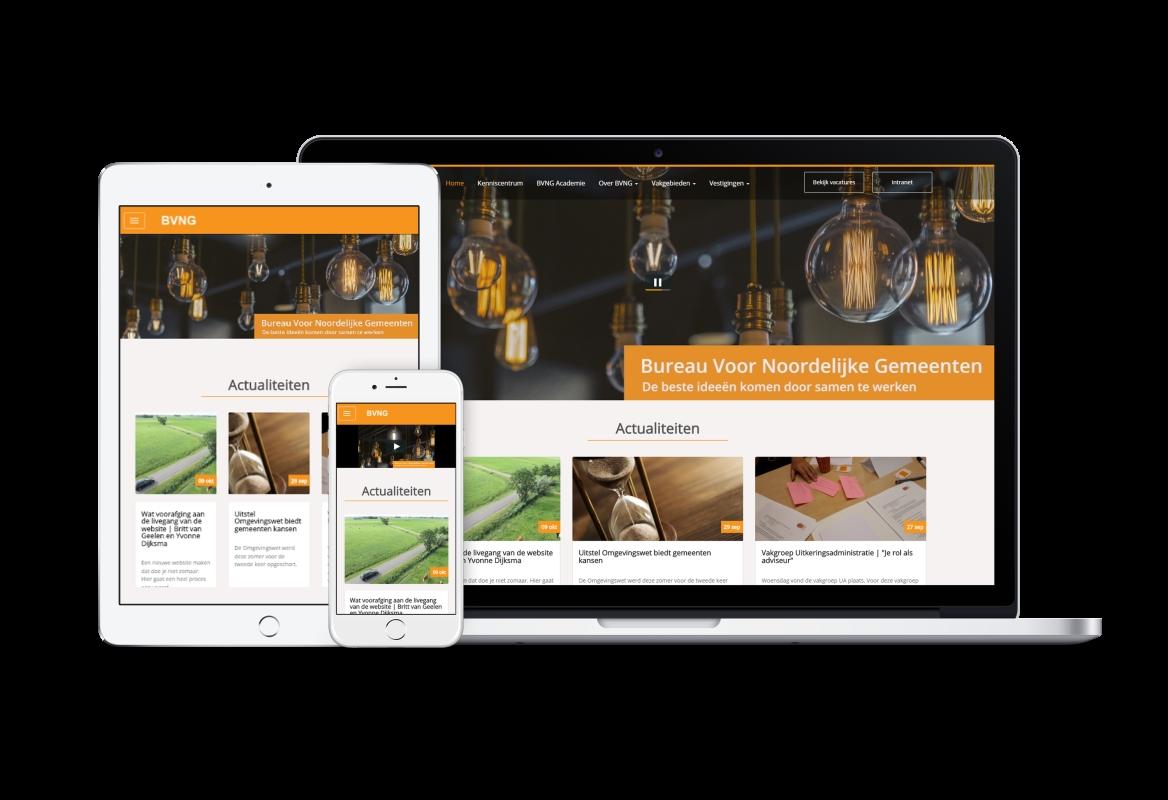 Website Bureau Voor Nederlandse Gemeenten - Website Creatie
