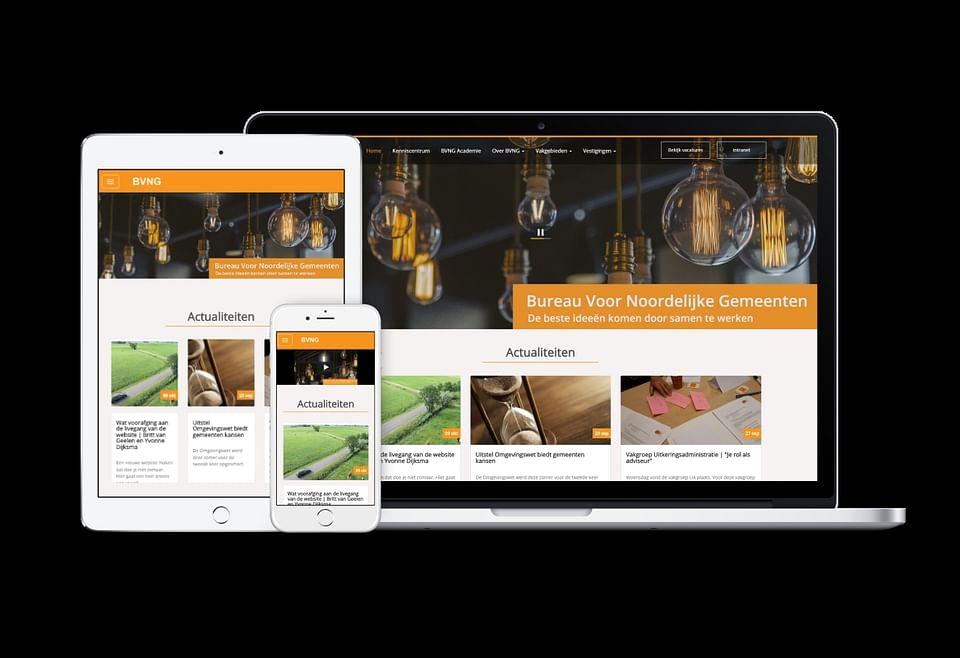 Website Bureau Voor Nederlandse Gemeenten