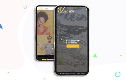 Ecommerce - Refonte du site Activ Zone Group - Création de site internet