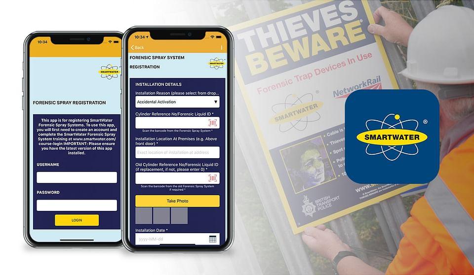 Crime prevention data capture app