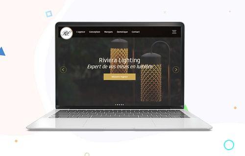 Création de site - Riviera Lighting - Création de site internet