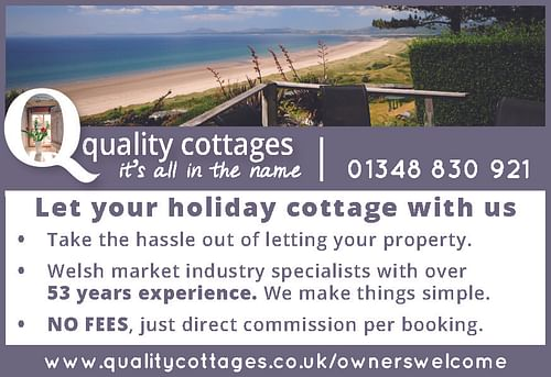 Quality Cottages - Advertising