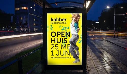 Kaliber: Campaign - Grafikdesign