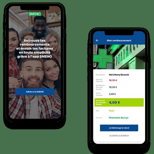 Application mobile Smeno - Application mobile